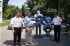 Postavljen novi kartonski policajac