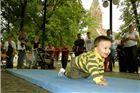 U brzom puzanju beba pobijedio je mali Erik