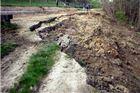 Odron zemlje u Levinovcu tridesetak metara od kuća – šteta 280.000 kuna