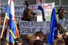 Prosvjed branitelja u Grubišnom Polju: Mijenjamo Jadranku i Stanimirovića za Purdu i Marića