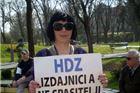 Fotogalerija - Virovitičke prosvjednice: Malo nas je al' smo glasne
