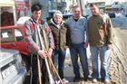 Mladi SDP-ovci do snijega čistili parkiralište u središtu grada