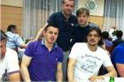 Dražen Posavac igrač NK Bilogora nastupio za Humane zvijezde u Slavonskom Brodu