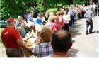 Tomislav Žagar i Damir Barić na proslavi praznika rada poslužili 500 porcija graha