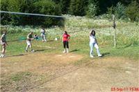 Natjecanje u odbojci na jezeru Javorica