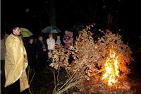 Pravoslavni vjernici virovitičke parohije zapalili Badnjak