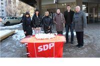 Virovitički SDP-ovci podijelili par stotina čokoladnih pisanica