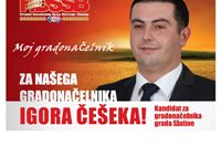 Češek: Slatinčanima je dosta HDZ-ove bahate vladavine i nepotizma