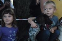 Prva revijalna izložba pasa u Slatini - zlato Luni i Azri