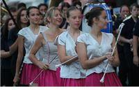 Mažoretkinje uz pratnju Gradske glazbe Virovitica otvorile Rokovo 2016.