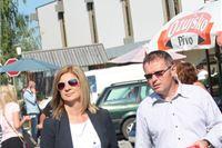 Kandidati Narodne koalicije IV. izborne jedinice u Pitomači dijelili promotivni materijal