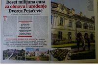 Nacional o obnovi i uređenju Dvorca Pejačević