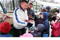 Maratonac Goran Draksler podijelio stotinjak poklona