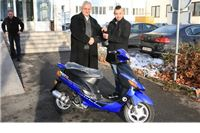Novogodišnja tombola u Orahovici: Matko Kaltenbacher osvojio prvu nagradu - skuter