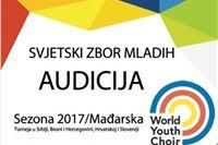 Svjetski zbor mladih u potrazi za mladim, talentiranim i iskusnim zborskim pjevačima