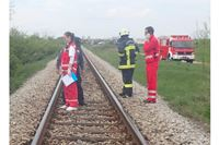 Poginula u naletu vlaka