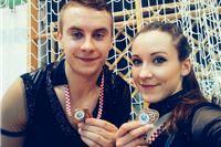 Virovitičanka Hana Per i Josip Jurić osvojili brončanu medalju na 1. Kupu Hrvatske u Akrobatskom rock 'n' rollu