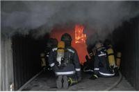 Trening vatrogasnih instruktora u simulatoru plamenih udara