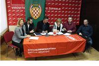 Prvi koalicijski sporazum: SDP i HSS zajedno na lokalne izbore