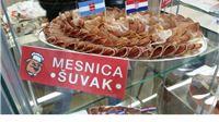 Šunka Klaonice i prerade mesa Šuvak proglašena najboljom na izložbi proljetnog sajma u Szentlorencu