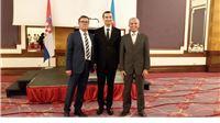 Milan Vanđura i Slavko Rajnović na proslavi Dana državnosti Republike Azarbajdžan