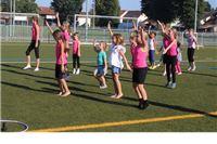 Dan otvorenih vrata Kluba ritmičke gimnastike Pirueta na Vegeški uz pjesmu, ples i veselje