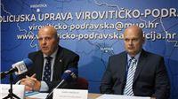 Zamjenik glavnog ravnatelja policije Željko Prša, Siniši Kneževiću uručio rješenje o imenovanju načelnikom PU virovitičko-podravske