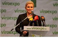 Predsjednica Kolinda Grabar Kitarović pokroviteljica sajma Virooexpo 2018.