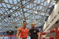 Mateo Horvat pobijedio Eltona Plava tehničkim nokautom u prvoj rundi