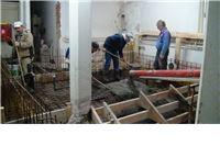Ugrađen prvi beton u bazen za fizikalnu rehabilitaciju u Slatini