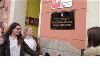 Proslavljen Dan Glazbene škole Milka Kelemena Slatina, na zgradi otkrivena natpisna ploča