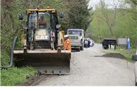 Počela rekonstrukcija ceste Slatinski Drenovac  - Jankovac