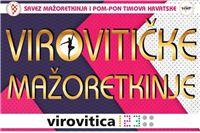 U subotu, 5. svibnja u Virovitici 32. Državni turnir mažoretkinja u velikim formacijama