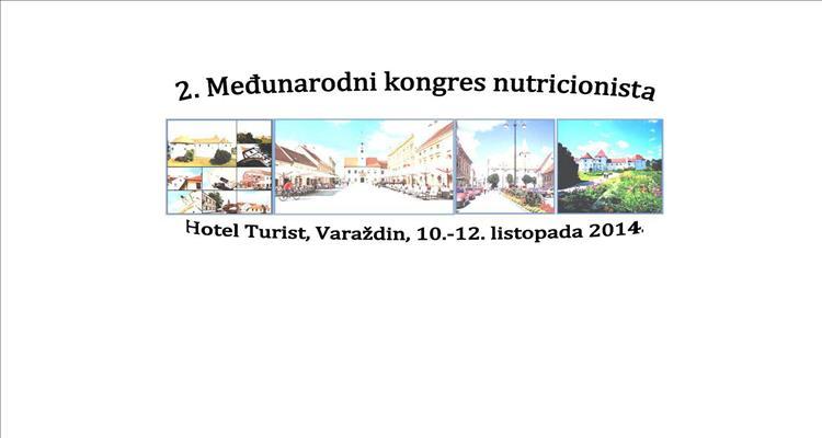 Najvljen II. Me�unarodni kongres nutricionista