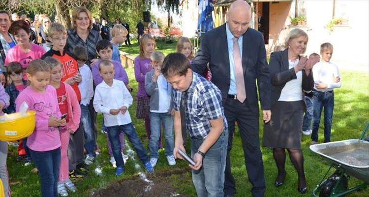 Polo�en kamen temeljac za izgradnju nove �kole u Gornjem Miholjcu