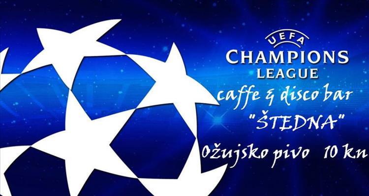 Od utorka do �etvrtka u �tednoj: Drugo kolo Lige prvaka i Europska liga