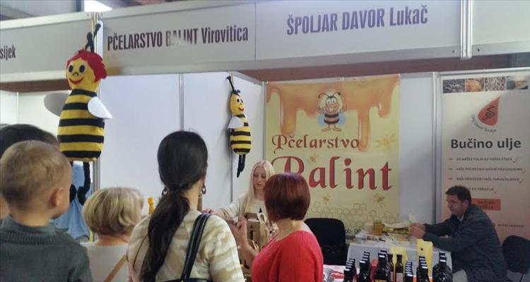 Izlagači s područja Virovitičko–podravske županije na 18. Osječkom jesenskom sajmu