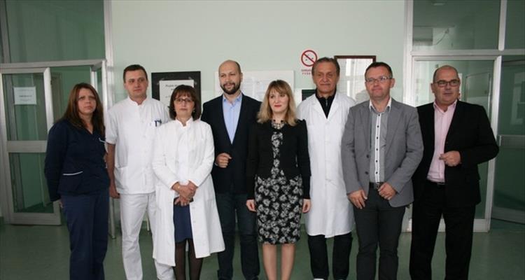 Ministar Zmajlović u virovitičkoj bolnici - odobren program energetske obnove