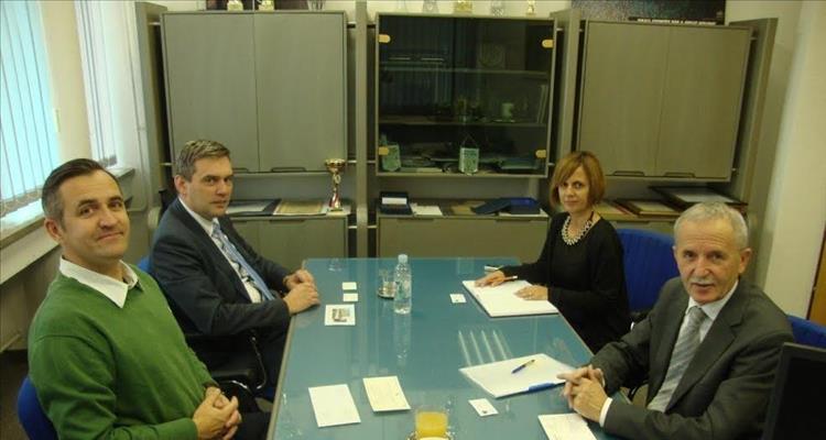 Gradonačelnik grada Csurgo iz Mađarske, posjetio HGK – Županijsku komoru Virovitica
