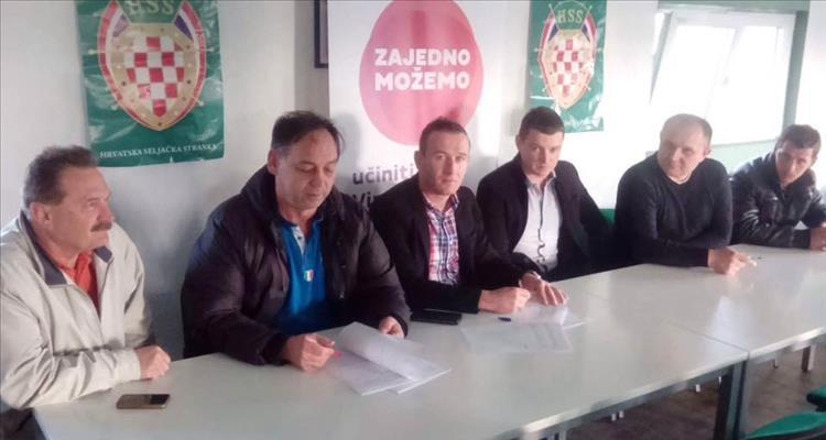 SDP i HSS: Potpisan koalicijski sporazum u Gradini