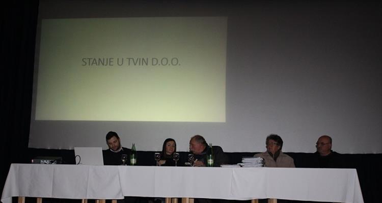 Članovi Udruge malih dioničara-udjeličara Tvin d.o.o. održali sastanak