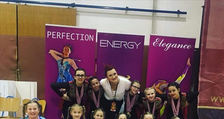 Virovitičke mažoretkinje osvojile 6 zlata, 4 srebra i 4 bronce na Međunarodnom festivalu mažoretkinja