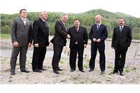 Ministar Čobanković otvorio Retencijsku pregradu na rijeci Vučici kod Orahovice