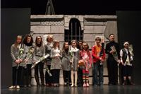 Djeca glumci oduševili bajkom «Grad bez ljubavi»