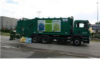 Stiglo specijalno vozilo za istovremeno skupljanje komunalnog i izdvojenog korisnog otpad