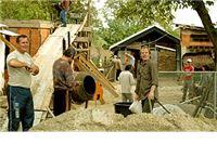 Uz pomoć prijatelja Ivančević gradio novu kuću