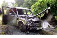 Izgorio policijski 'Land-Rover' vrijedan više od 58.000 eura