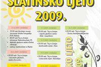 Slatinsko ljeto 2009.