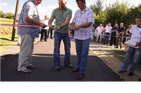 Otvorena novoasfaltirana cesta u Lugu Gradinskom