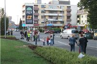 Zatvaranje prometa u Slatini